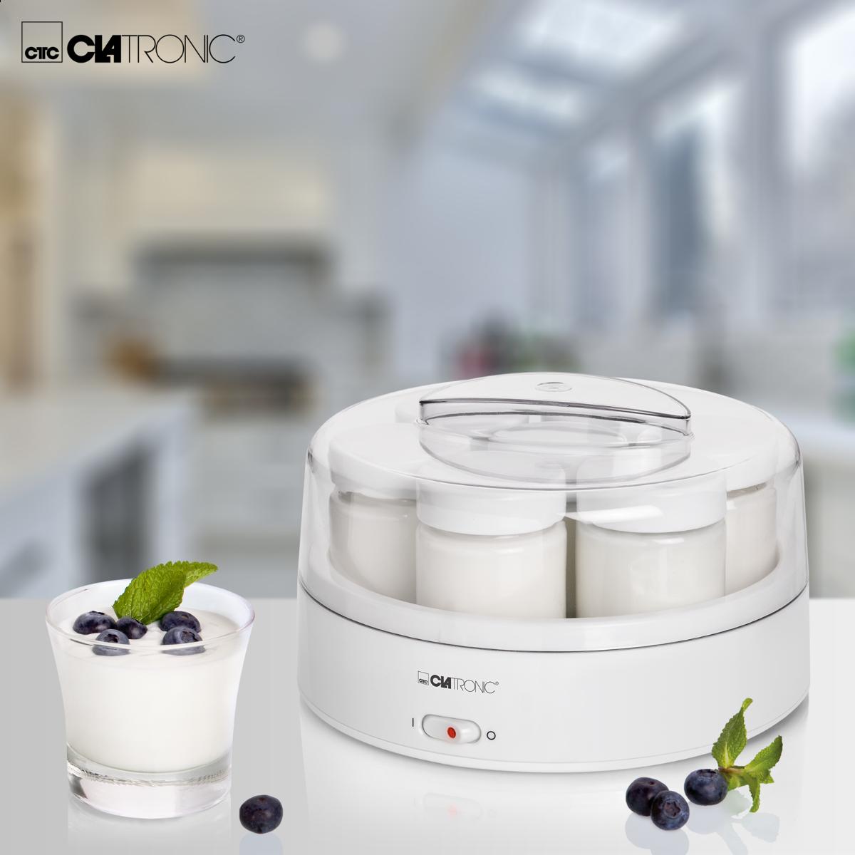 Йогуртница CLATRONIC белый JM 3344