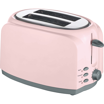 Тостер 750 Вт (піддон для крихт, розморожування/підігрів) ViLgrand VT0727_pink