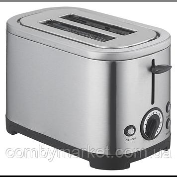 Тостер 950 Вт (нерж., піддон для крихт, розморожування/підігрів) ViLgrand VT0928S