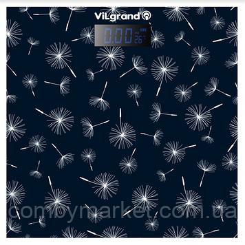 Ваги підлогові електронні 180 кг, 28х28 ViLgrand VFS-1828TN_DARK_BLUE