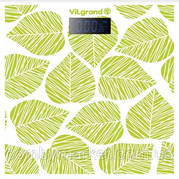 Ваги підлогові електронні 180 кг, 28х28 ViLgrand VFS-1828TN_GREEN