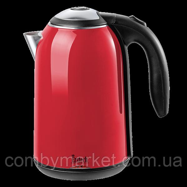 Чайник електричний нержавейка, цельная колба (1.8 л; 2 кВт) ERSTECH EH-418