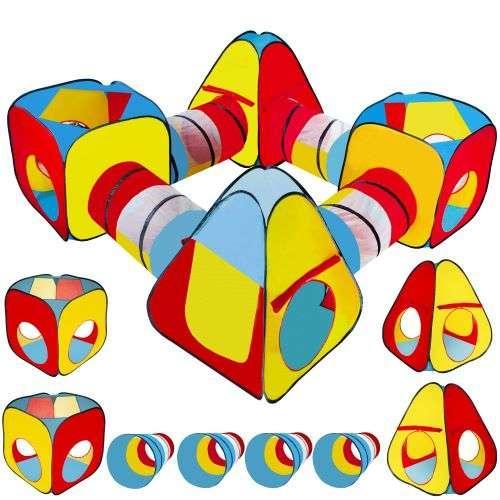 Дитяча ігрова палатка тунель 8 в 1 10952 намет для дітей (ігровий будиночок-намет для дому)