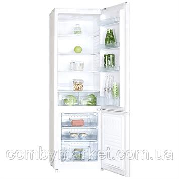 Холодильник (об'єм 170/82, висота 1648 мм, 2 дверей), мороз верх,1 компресор Saturn ST-CF1951К