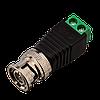 Коннектор для передачи видеосигнала Green Vision GV BNC/M (male) (1уп =10шт)