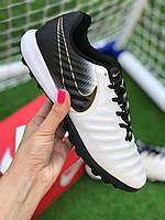 Стоноги Nike Tiempo Ligera IV TF многошиповки найк темпо тиемпо бампы лигера, фото 1