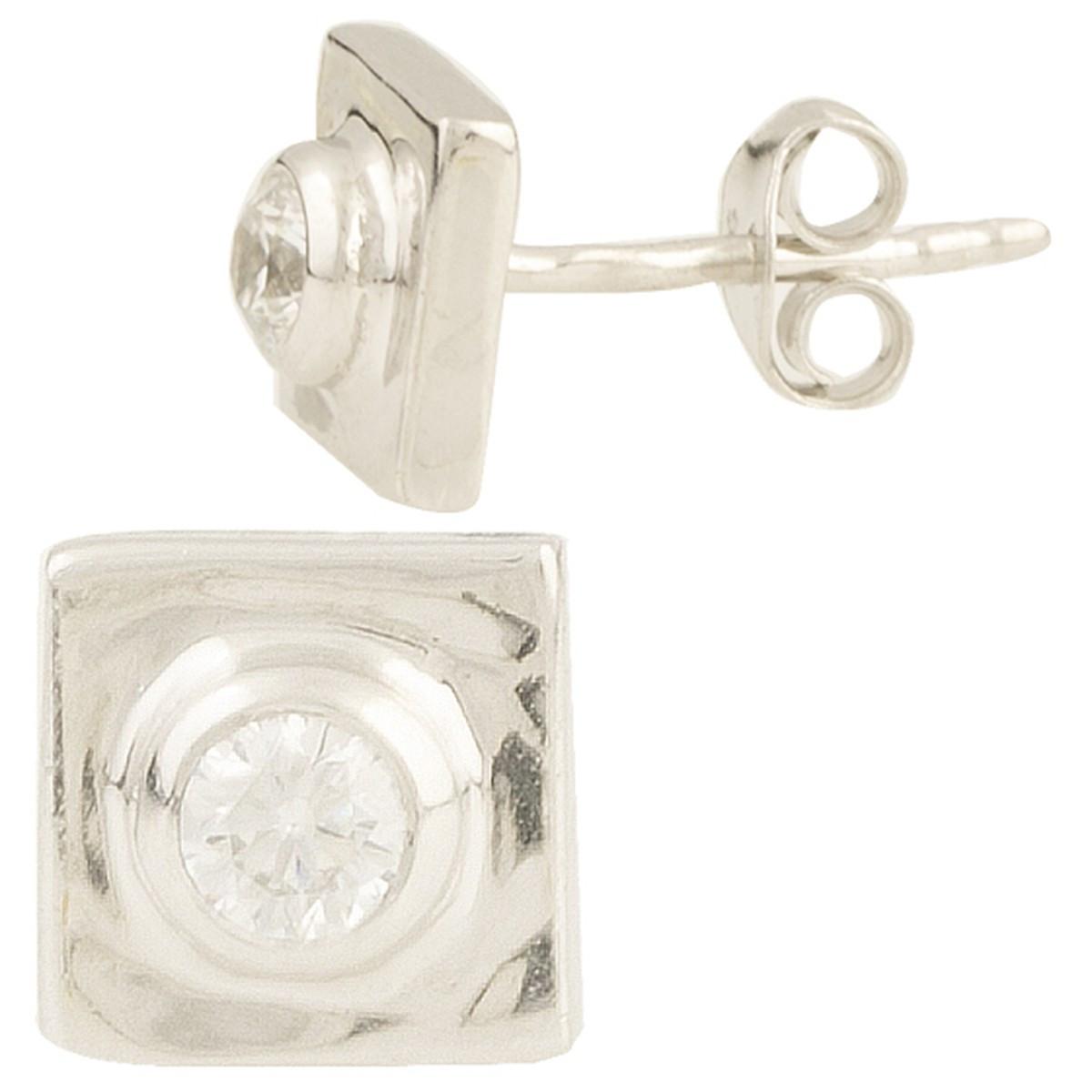 Серебряные серьги MioDio с фианитами (0949918)