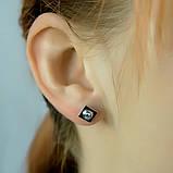 Серебряные серьги MioDio с фианитами (0949918), фото 2