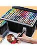 Набір маркерів для скетчинга 60шт. Двосторонні маркери на спиртовій основі. Скетч-маркери, фото 5