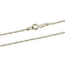 Серебряная цепочка MioDio без камней (1268155) 400 размер