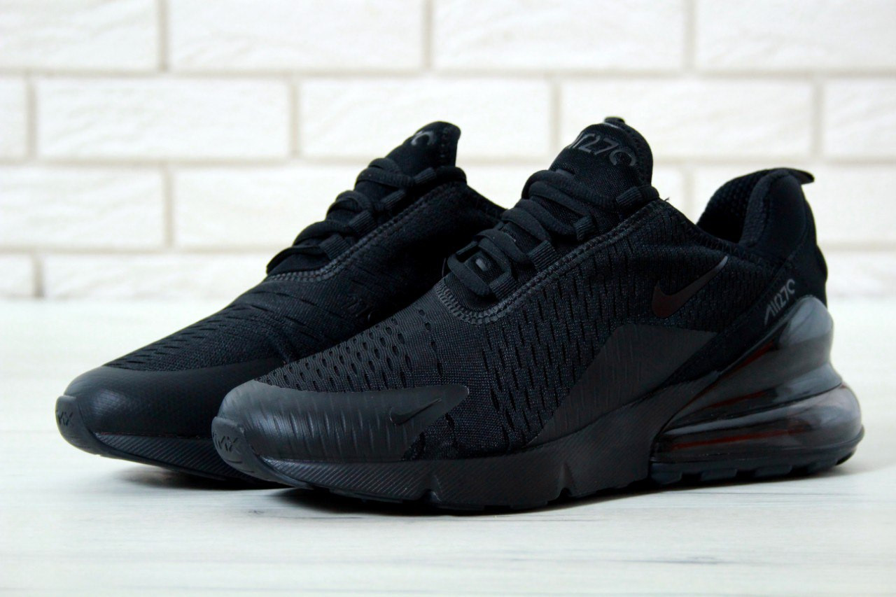 Мужские черные Кроссовки Nike Air Max 270