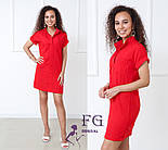 """Жіноче лляне плаття літнє """"Avrora""""  Норма, фото 7"""