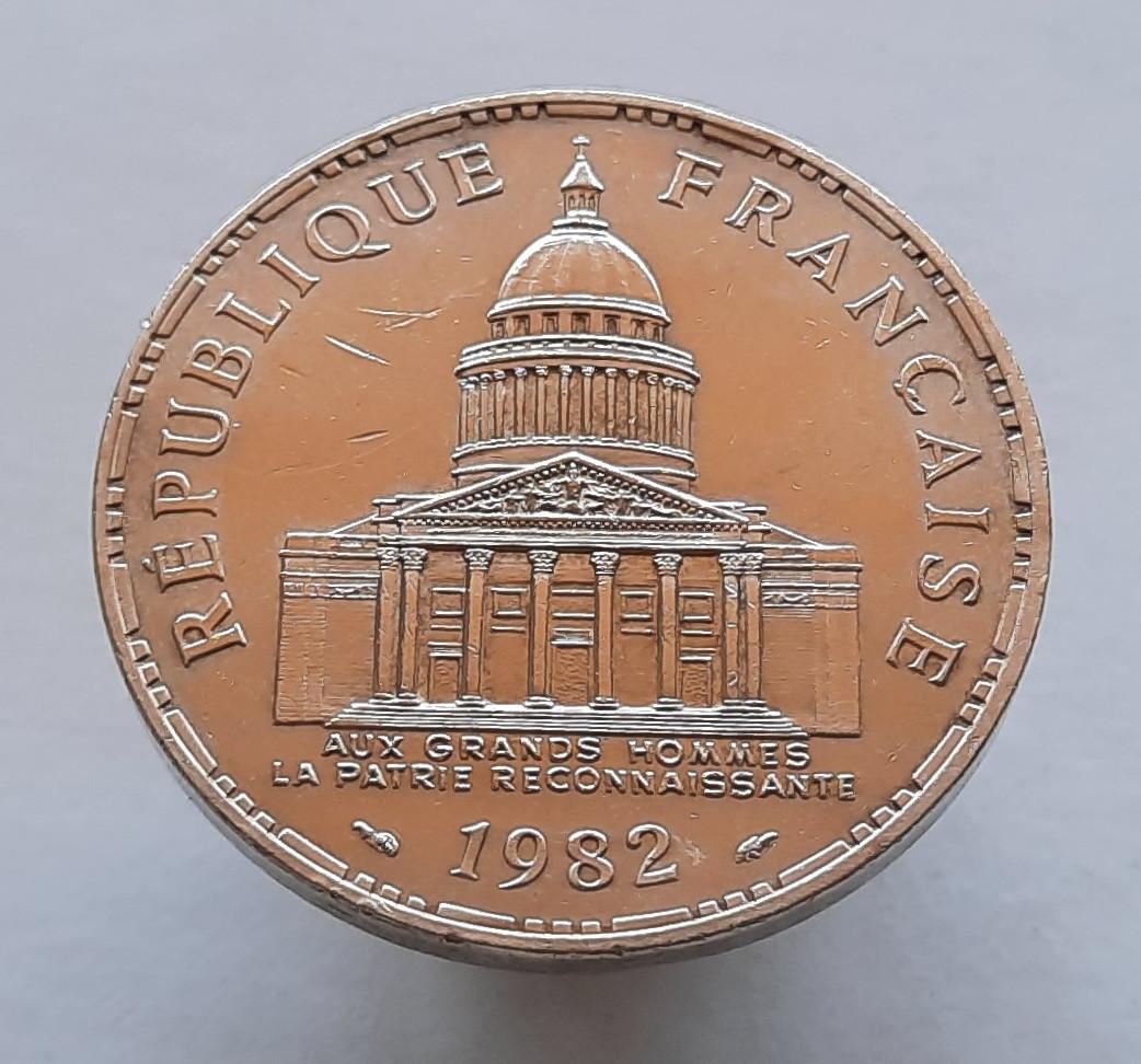 Франція 100 франків 1982 Срібло