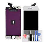 Дисплей для Apple iPhone 5 с белым тачскрином HC