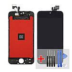 Дисплей для Apple iPhone 5 с чёрным тачскрином HC