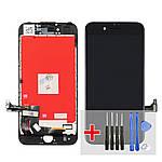 Дисплей для Apple iPhone 7 с чёрным тачскрином HC