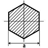 Шестигранник 14, сталь 45, ГОСТ 2879, фото 6