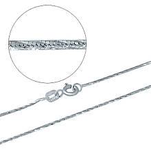 Серебряная цепочка MioDio без камней (1936337) 500 размер