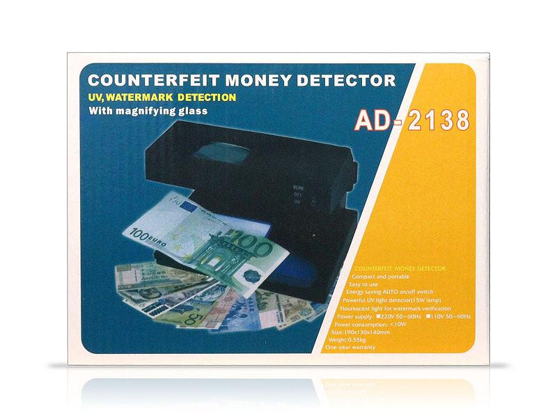 Детектор валют 2138 30шт 9757
