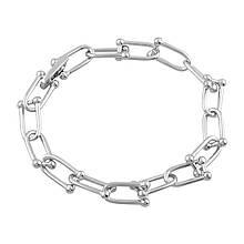 Серебряный браслет MioDio без камней (2080084) 17.5 размер