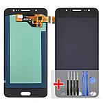 Дисплейний модуль (екран) для Samsung J510 Galaxy J5 (2016) з чорним тачскріном OLED
