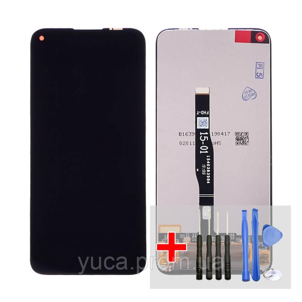 Дисплей для Huawei P40 Lite/Nova 5i с чёрным тачскрином
