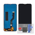 Дисплей для ZTE Blade V10 Vita з чорним тачскріном