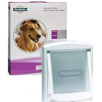 Дверцы Staywell для котов и собак средних пород, белый, 352х294 мм