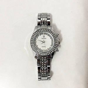 Годинники наручні жіночі Rolex Women Luxury. Колір: срібло