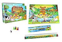 Настольная игра сельский дворик 30503,настільна гра сільський дворик 30503,игра бродилка