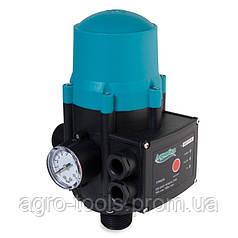 "Контролер тиску електронний 1.1 кВт Ø1"" авт пошук води + рег давл вкл 1.5-3.0 bar AQUATICA (779534)"