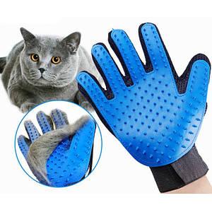 Перчатки для чистки животных Pet Gloves