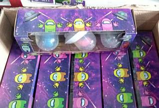 ОПТ!!!! Амонг Ас на тарілці AMONG US 3 шт в упаковці 30х10х8 см