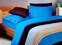 Постельное белье For you модель Turkuaz(+вязанный плед)