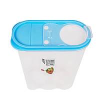 Пластиковый контейнер для сыпучих продуктов 2,4 л
