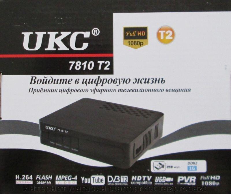Цифровой эфирный приемник TV тюнер DVB-T2 7810
