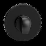 Фиксатор поворотный WC T19A MVM черный матовый, фото 3