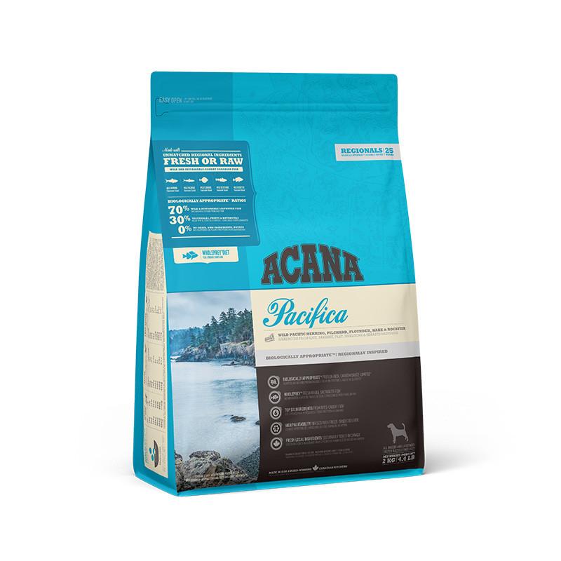 Корм Acana Pacifica Акана Пацифік для дорослих собак всіх порід з рибою 2 кг