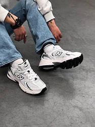 New Balance 530 White (Топ якість) Весна,  Чоловічі Кросівки, Мужская обувь