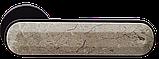 Дверні ручки MVM Z-1804 Black - мармур бежевий, фото 2