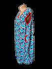 Халати жіночі на блискавці бавовна Україна. Розміри 52,54,56,58,60,62. Від 6шт за 109грн, фото 5