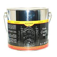 Краска чёрная по металлу Polswat 0,8 л