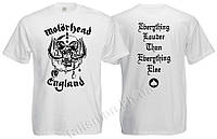 MOTORHEAD - England - белая - футболка Индия