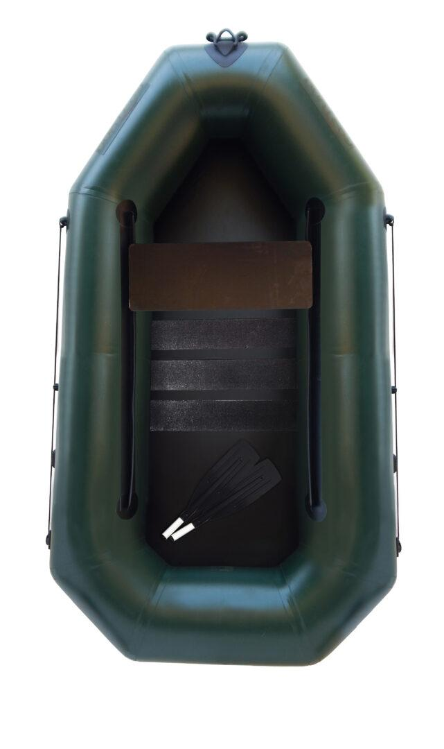 Надувная гребная одноместная лодка из пвх F190PC, Лисичанка Фортуна, 850г/м2