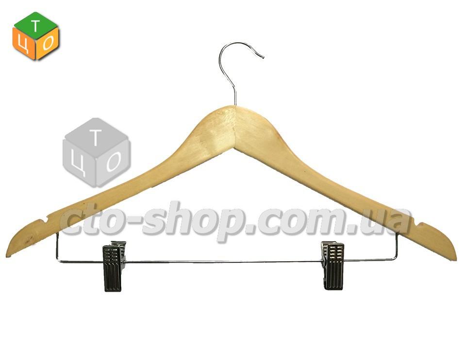 Вішалка дерев'яна з прищіпкою
