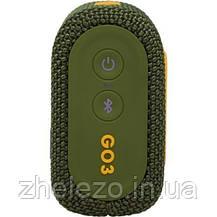 Акустична система JBL Go 3 Green (JBLGO3GRN), фото 3