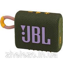 Акустична система JBL Go 3 Green (JBLGO3GRN), фото 2