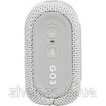 Акустична система JBL Go 3 White (JBLGO3WHT), фото 2