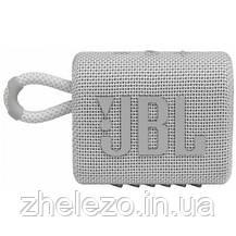 Акустична система JBL Go 3 White (JBLGO3WHT), фото 3
