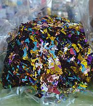 Аксессуары для праздника конфетти мишура ассорти 100грамм